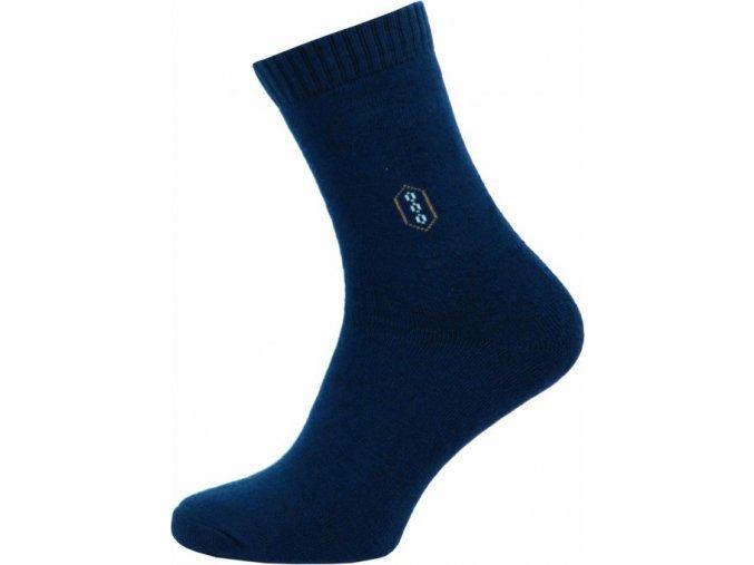 Froté Ponožky NOVIA 150N tmavě modré