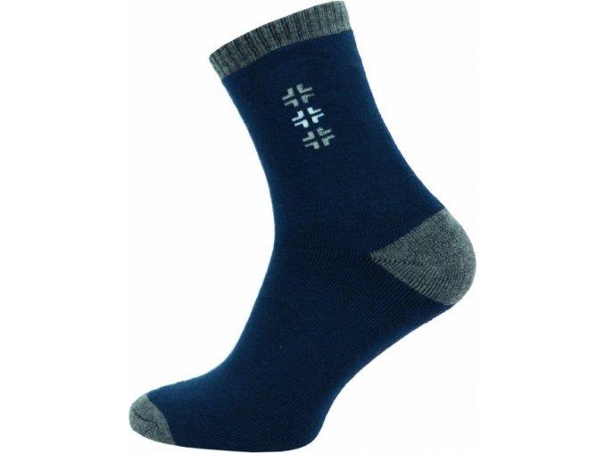 Froté Ponožky NOVIA 152N tmavě modré
