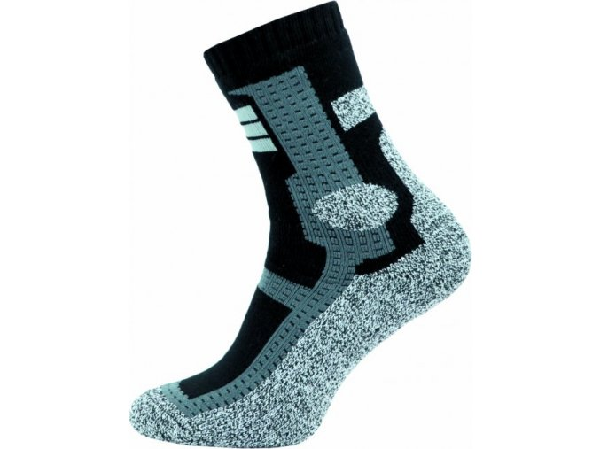 Thermo Ponožky NOVIA Cross šedé