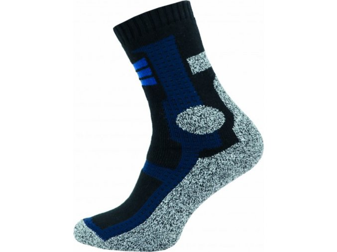 Thermo Ponožky NOVIA Cross tmavě modré