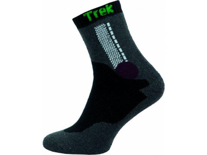 Ponožky NOVIA Trek- tmavě šedé