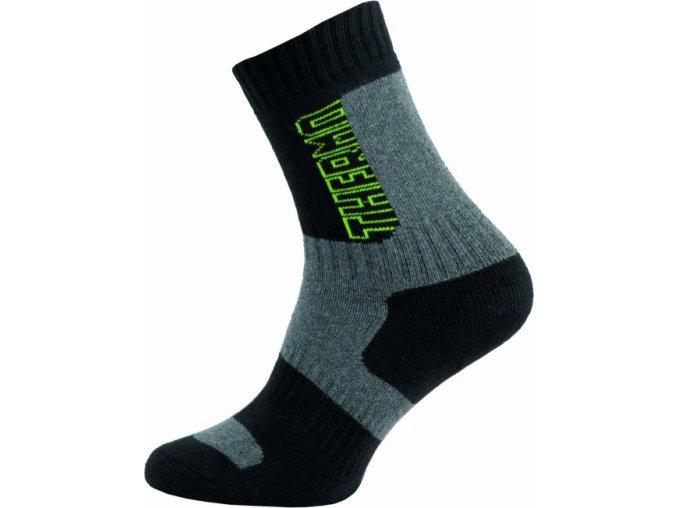 Thermo Ponožky NOVIA Silvertex 252N zelené