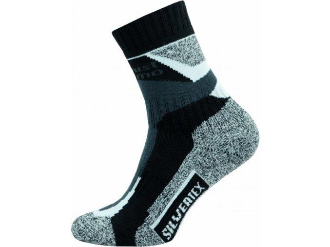 Sportovní Ponožky NOVIA Silvertex Alpinning šedé