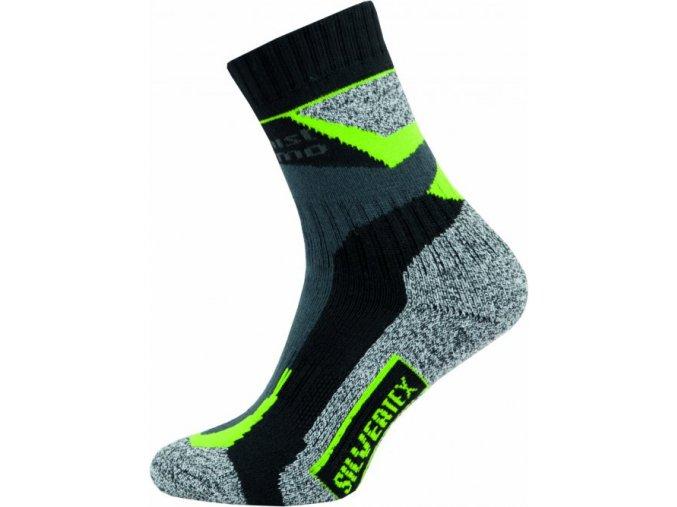 Sportovní Ponožky NOVIA Silvertex Alpinning zelené