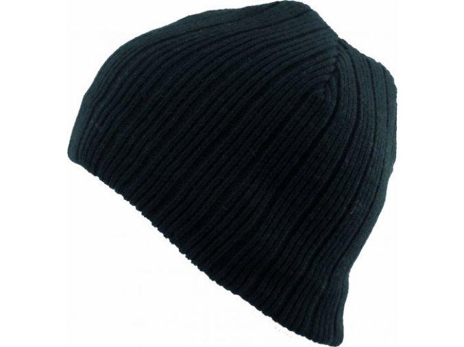 Pánská čepice Novia N010 černá