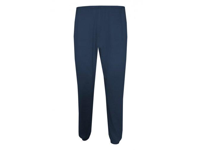 Pánské Pyžamové kalhoty Foltýn dlouhé tmavě modré