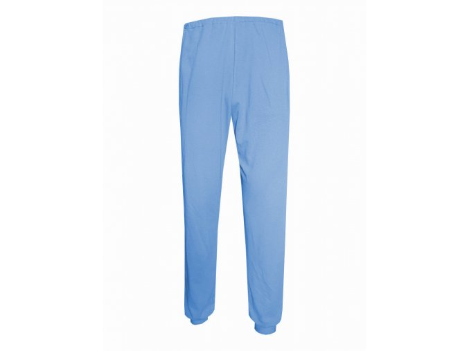 Pánské Pyžamové kalhoty Foltýn dlouhé světle modré