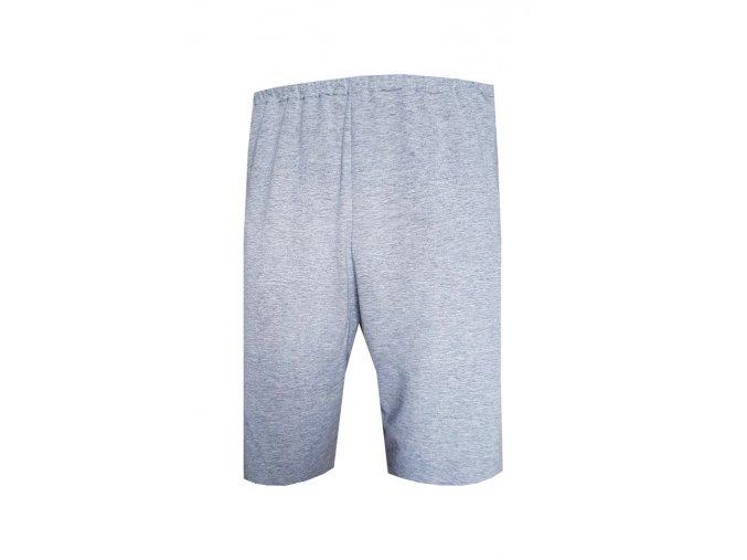 Pánské Pyžamové kalhoty Foltýn 3/4 šedý melír
