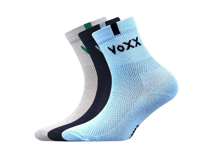 Dětské ponožky 3 kusy v balení VoXX Fredík chlapecké   mix B