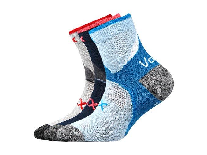 Dětské ponožky 3 kusy v balení VoXX Maxterik mix vzorů A