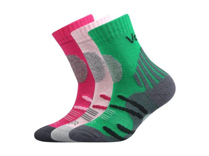 Dětské ponožky 3 kusy v balení VoXX Horalik mix a