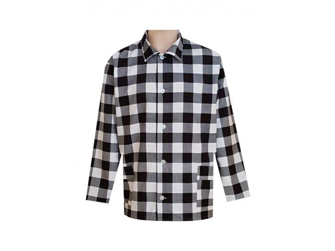 Pánský Pyžamový Kabátek Flanelový FOLTÝN PPKF15