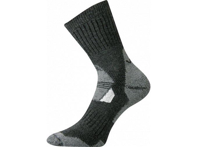 Sportovní ponožky VooX Stabil tmavě šedá
