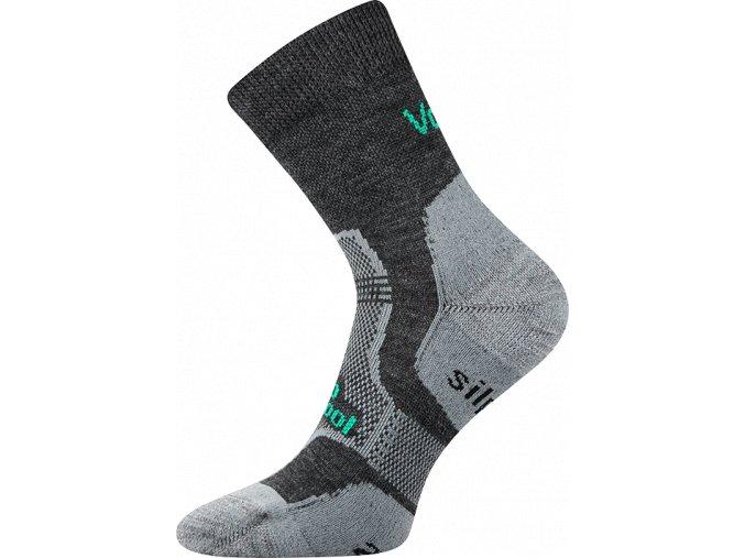 Sportovní ponožky VooX Granit tmavě šedá