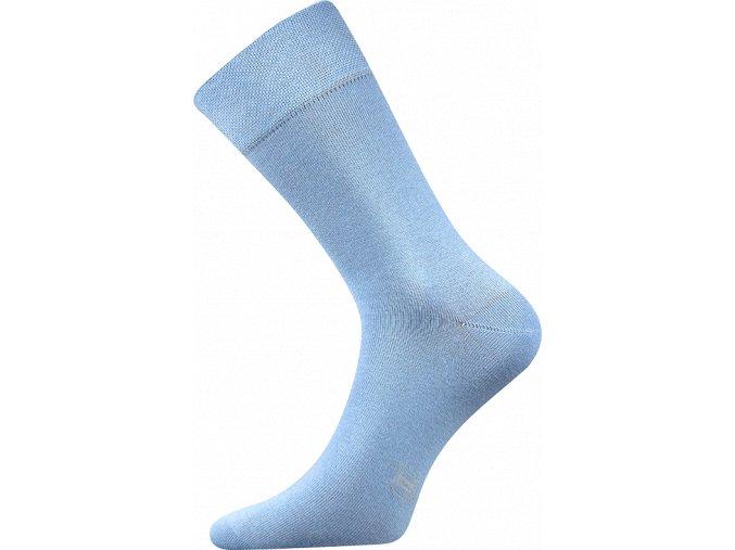 Společenské Ponožky Lonka Decolor světle modrá