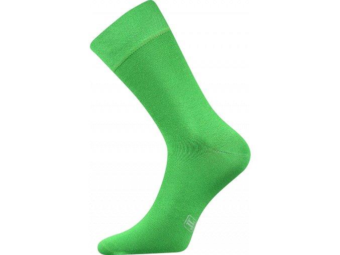 Společenské Ponožky Lonka Decolor světle zelená
