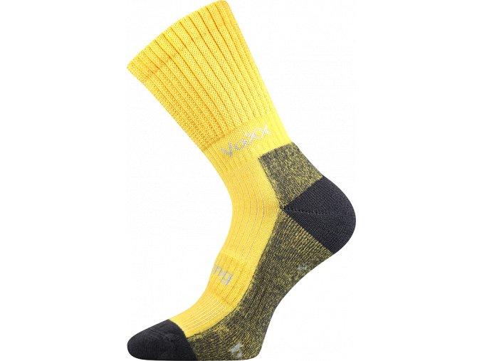 Bambusové Sportovní Ponožky VoXX Bomber žlutá
