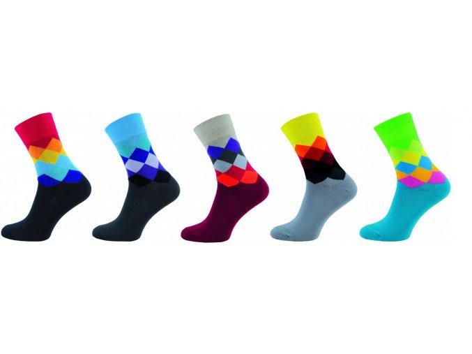 Pánské ponožky Novia 5 párů v balení 22S