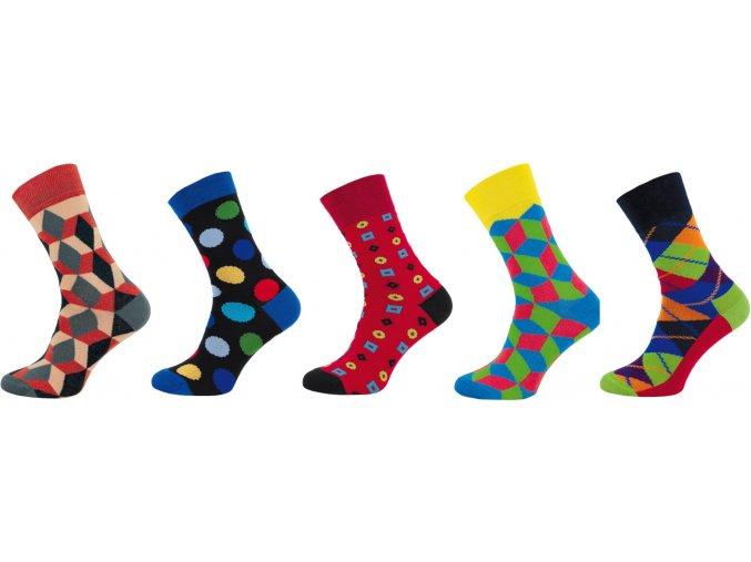 Pánské ponožky Novia 5 párů v balení 21P