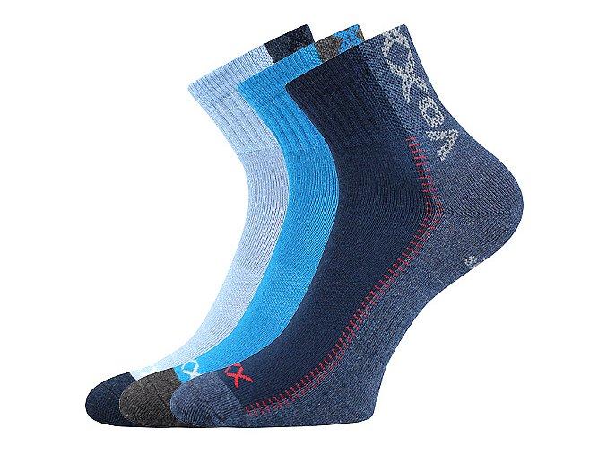 Dětské ponožky 3 kusy v balení VoXX Revoltik chlapec mix A