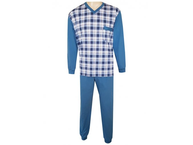 Pánské Pyžamo Dlouhé FOLTÝN PD 142