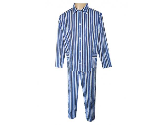Pánské Pyžamo Plátěné FOLTÝN PP23