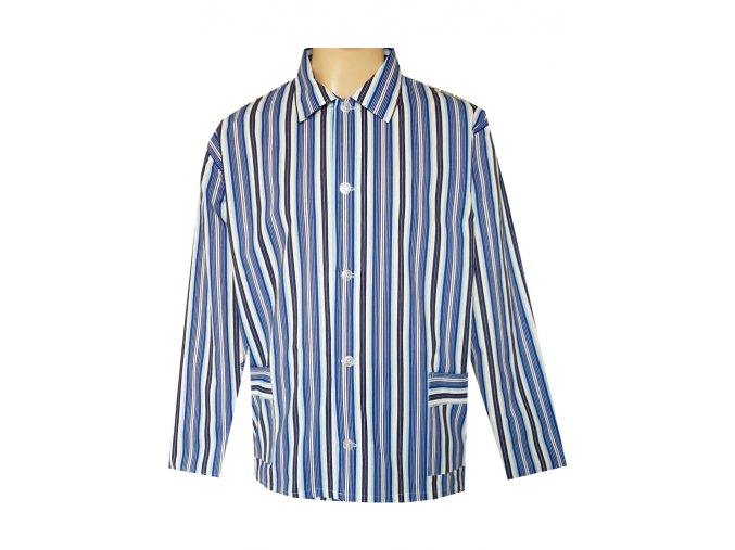 Pánský Pyžamový Kabátek Plátěný FOLTÝN PPK08