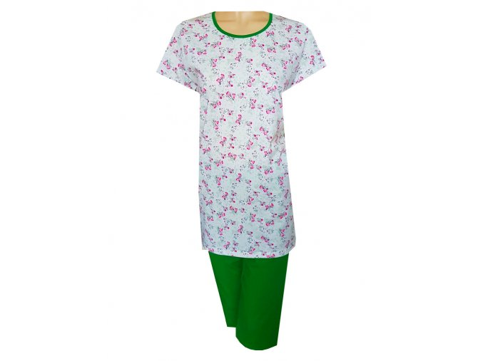 Dámské Pyžamo Krátké DPK6