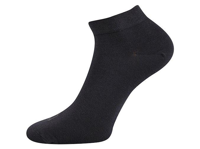 Bambusové ponožky 3 kusy v balení Lonka Desi tmavě šedá