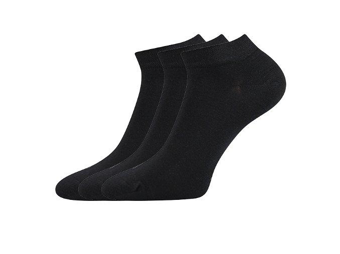 Zdravotní ponožky 3 kusy v balení Lonka Esi černá
