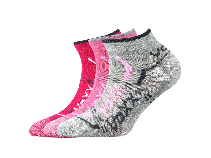Dětské ponožky 3 kusy v balení VoXX Rexík 01 mix B
