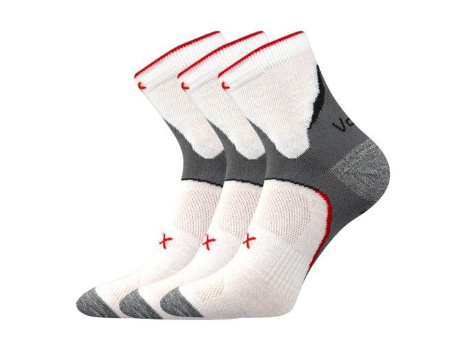 Ponožky VoXX 3 kusy v balení Maxter bílá