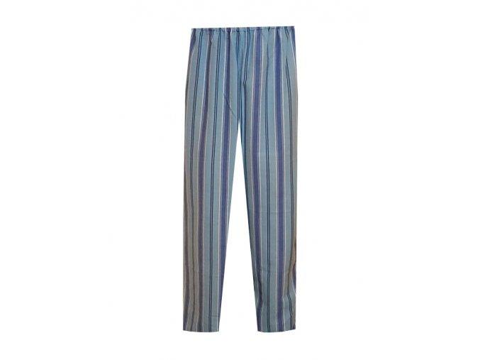 Pánské Pyžamové kalhoty Flanel Foltýn dlouhé modré proužky