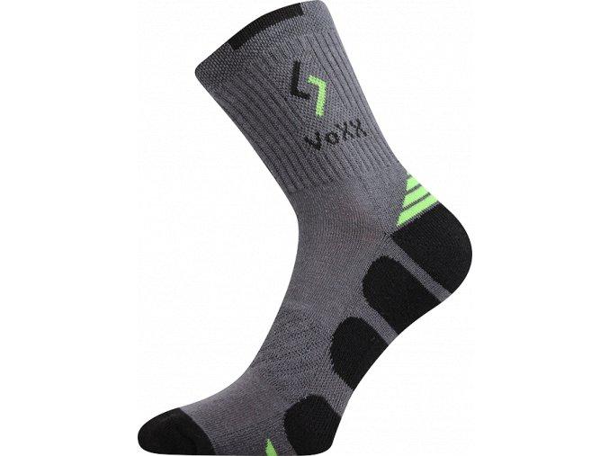Ponožky VoXX Tronic tmavě šedá