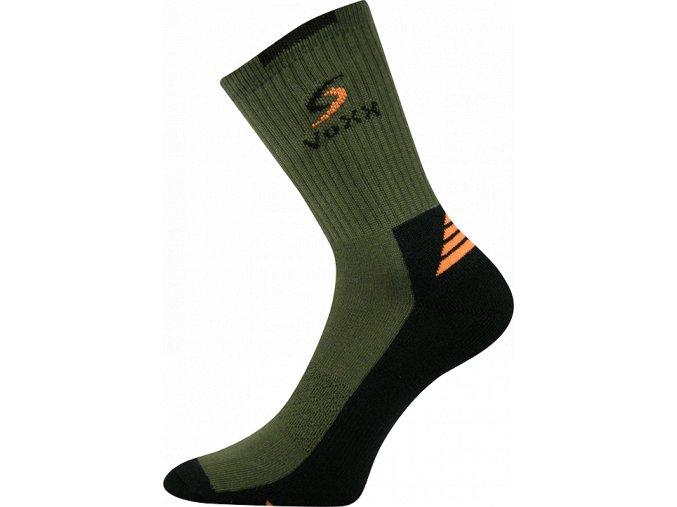 Ponožky VoXX Tronic tmavě zelená