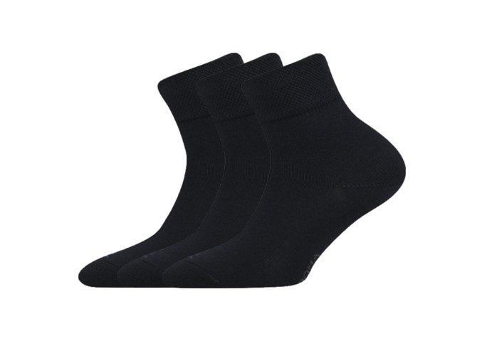 Dětské ponožky 3 kusy v balení Boma Emko Černá