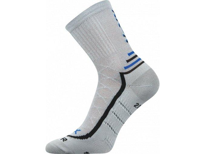 Ponožky VoXX Vertigo světle šedá