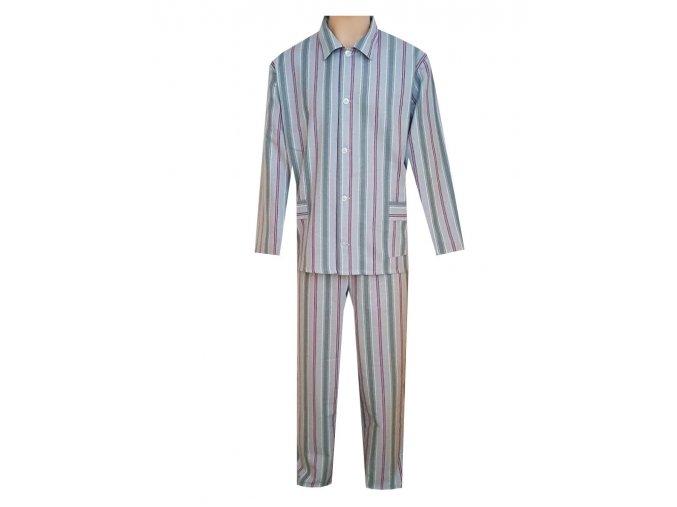Pánské Pyžamo Plátěné FOLTÝN PP29