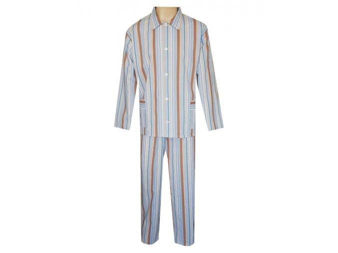 Pánské Pyžamo Plátěné FOLTÝN PP30