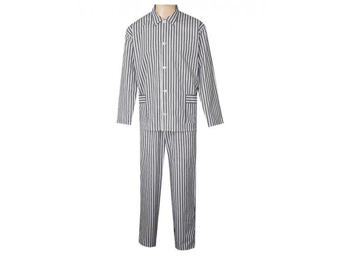 Pánské Pyžamo Plátěné FOLTÝN PP33