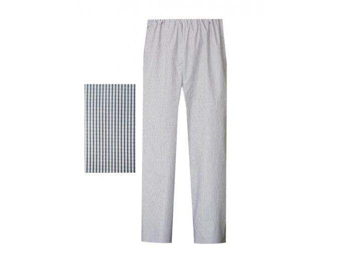 Pánské Pyžamové kalhoty popelín Foltýn dlouhé PPKP02