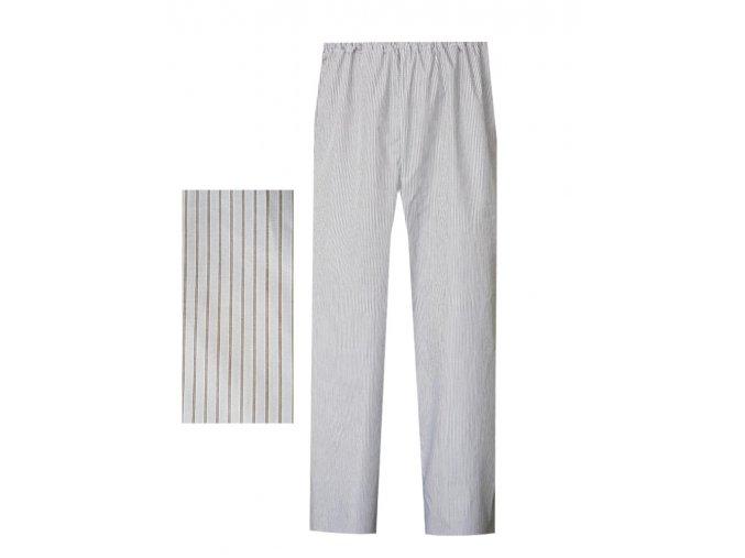 Pánské Pyžamové kalhoty popelín Foltýn dlouhé PPKP05