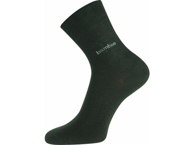 Bambusové ponožky Boma Kristián tmavě šedá