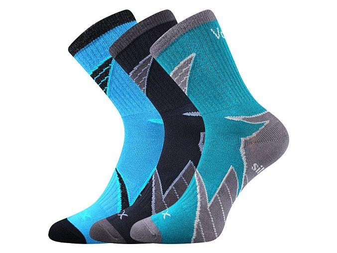 Dětské ponožky 3 kusy v balení VoXX Joskik mix A kluk