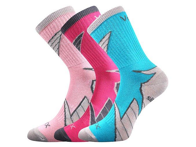 Dětské ponožky 3 kusy v balení VoXX Joskik mix B holka