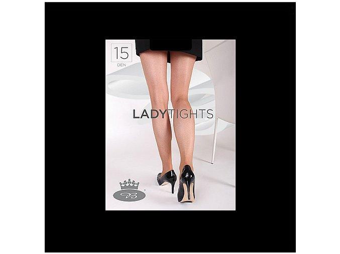 Punčochové kalhoty Boma Lady tights 15 den černá