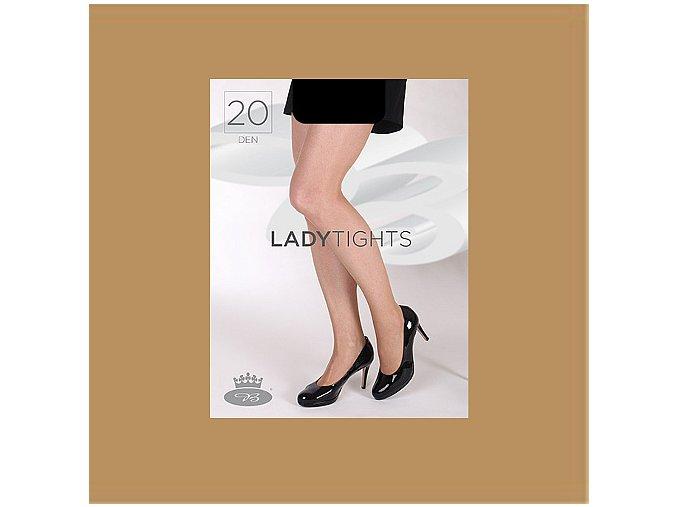 Punčochové kalhoty Boma Lady tights 20 den béžová