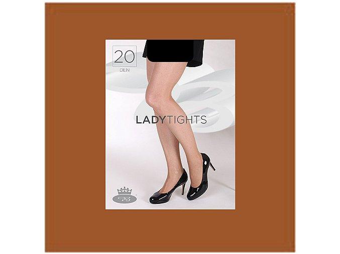 Punčochové kalhoty Boma Lady tights 20 den opal
