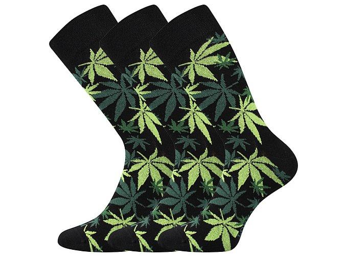 Společenské ponožky 3 kusy v balení Lonka Depate mix K