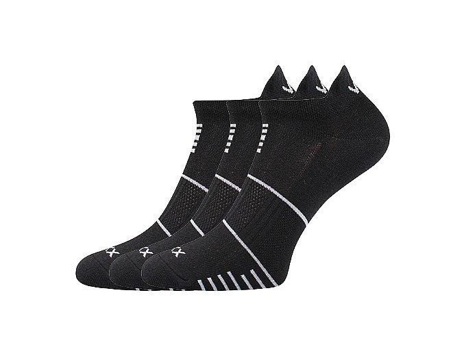 Ponožky VoXX 3 kusy v balení Avenar černá
